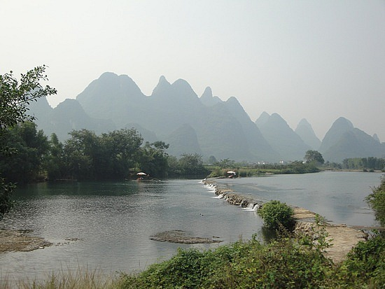Little rapid on the Yulong River