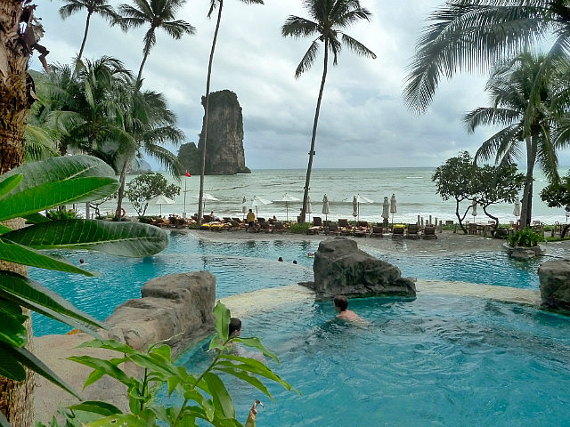 Pool and scenery