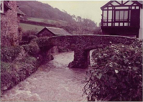 Cute bridge in Devon