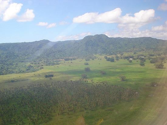 Flying into Vanuatu