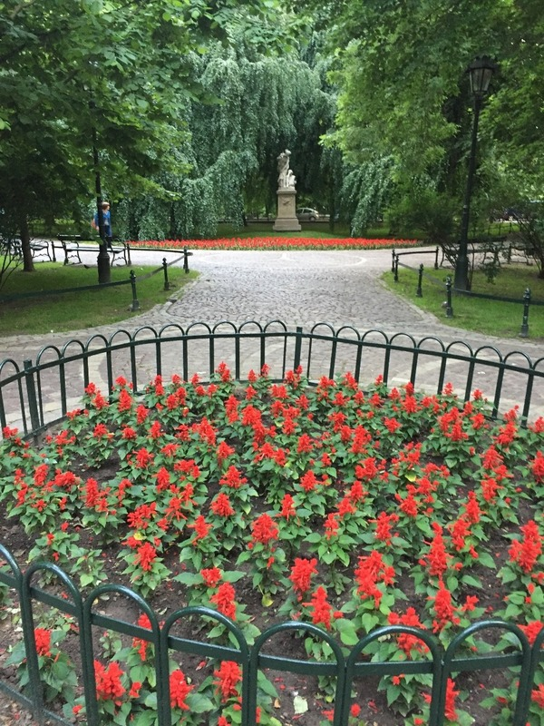 Gardens that ring the old town