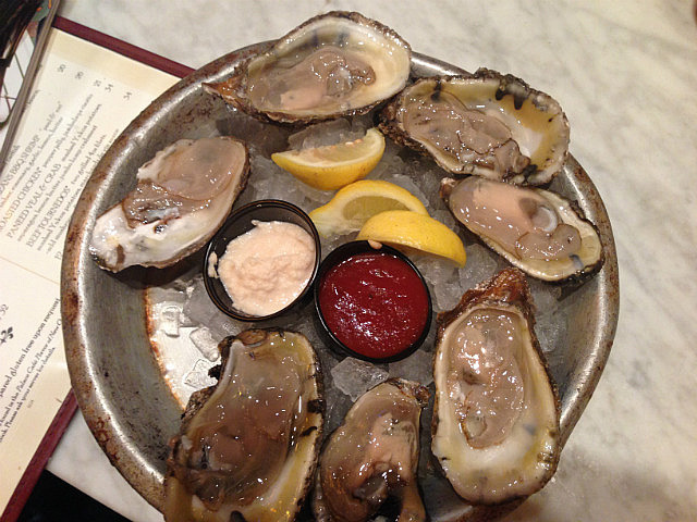 Massive oysters