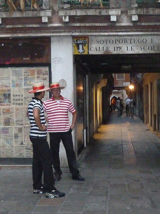 Two Gondoliers