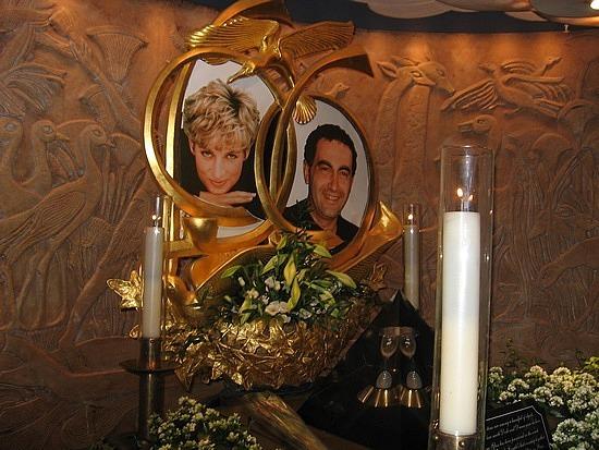 Princess Di Shrine in Harrods