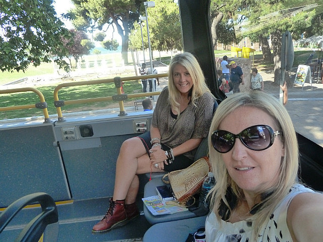 Us on the bus