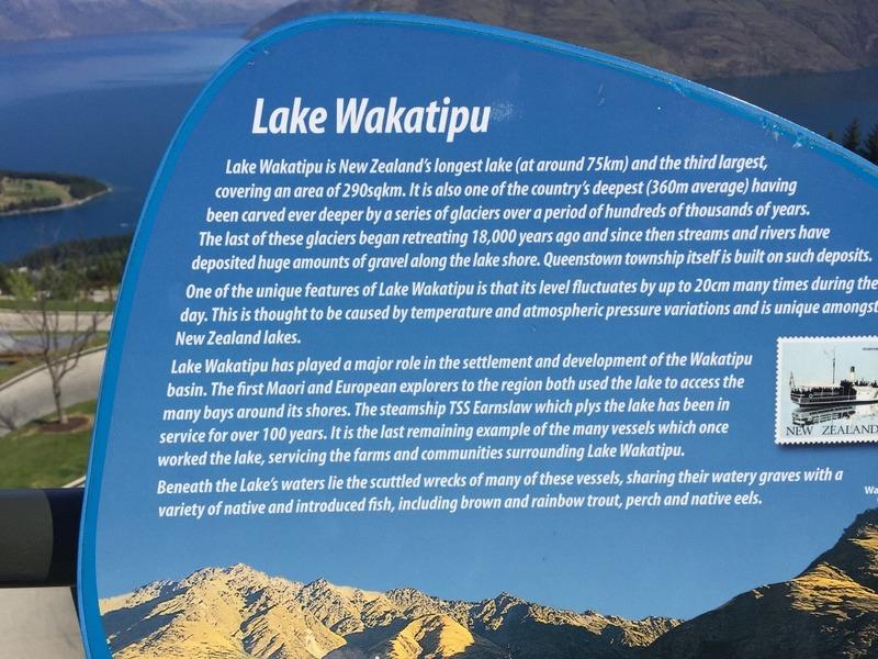 Lake Wakatipu info