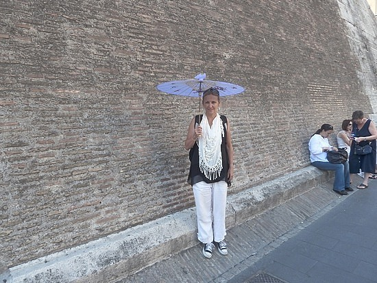 My shade umbrella