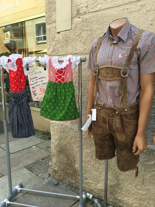 Bavarian clothing