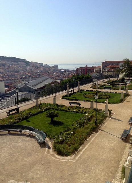 Nice park in Bairro Alto