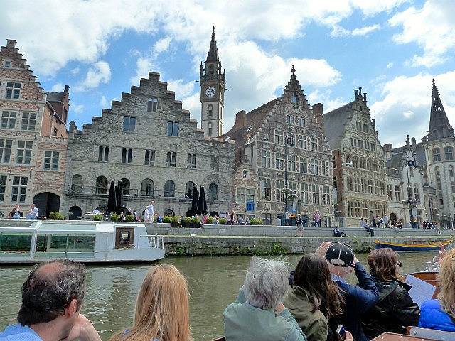 Guild building in Ghent