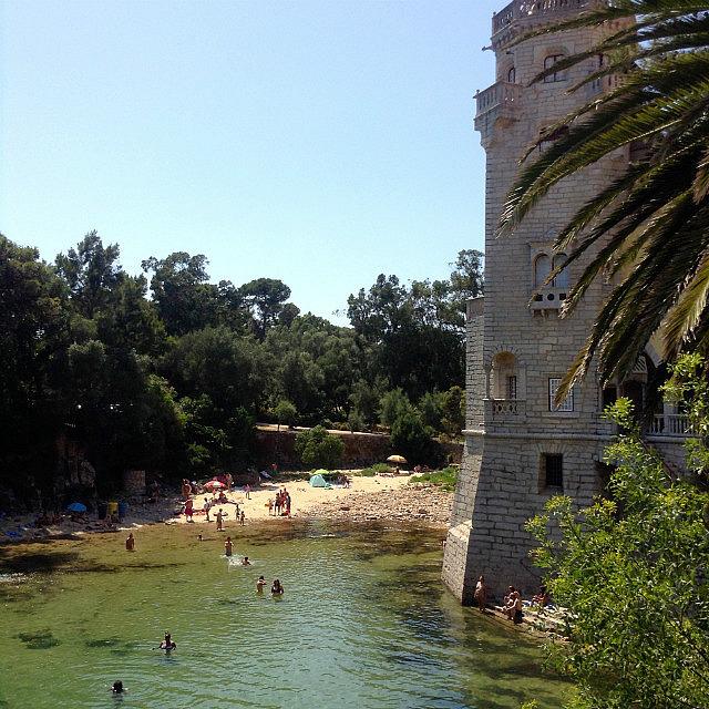 Castle swimming hole