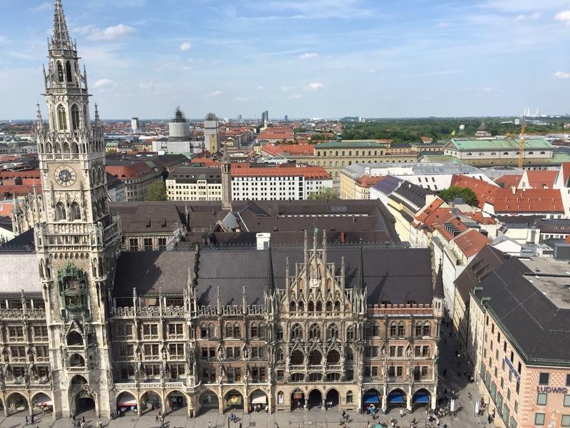 Marienplatz and St Marys column