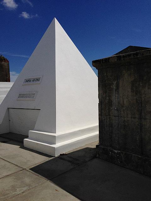 Pyramid Nicolas Cage built for himself