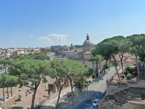 View from terrace of Victor Emmanuel Monument