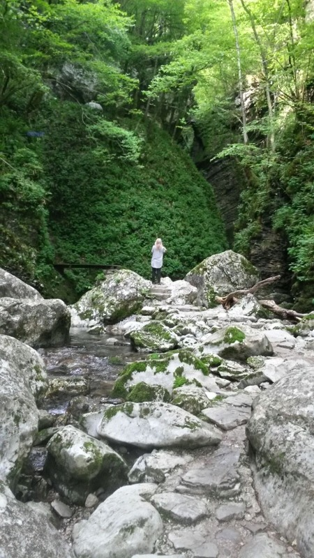 Me in the magical gorge