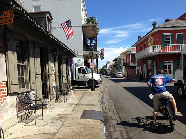 Checking out the french quarter
