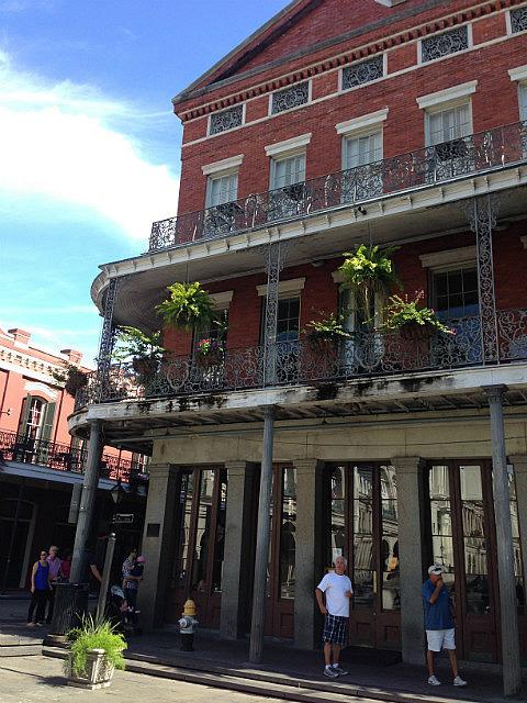 High balconies