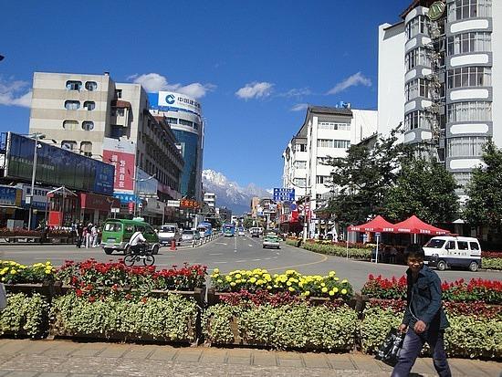 Beautiful day in Lijiang
