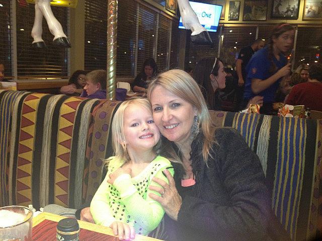 Alaiya and I at Red Robin