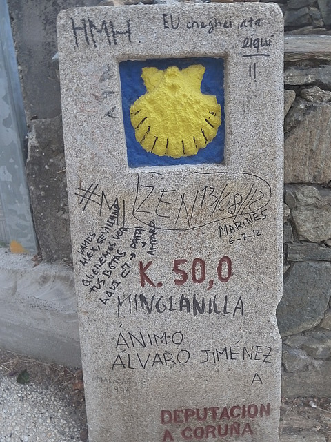 50km marker