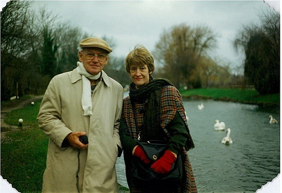 Dad & Mum in Wells