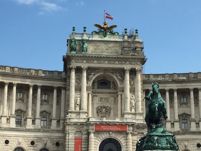 Heldenplatz buildings