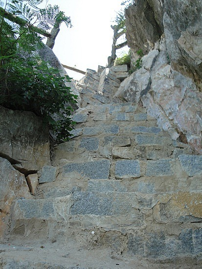 More steep steps!