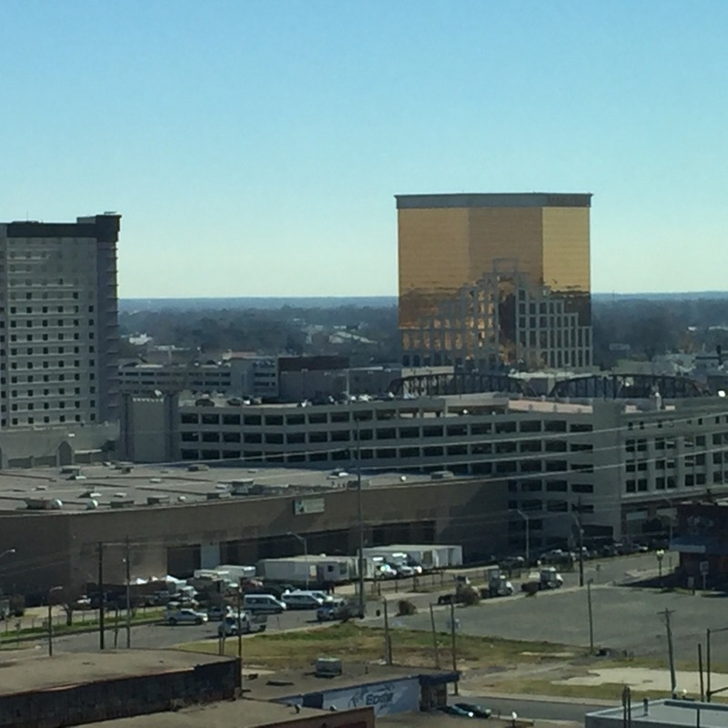 View from Hilton