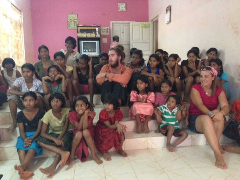 At the Girls Orphanage