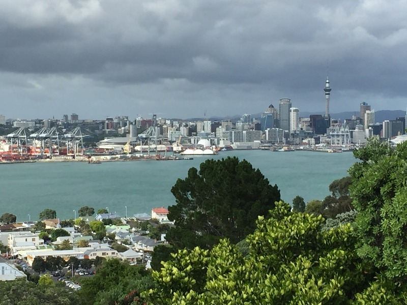 View back to Auckland