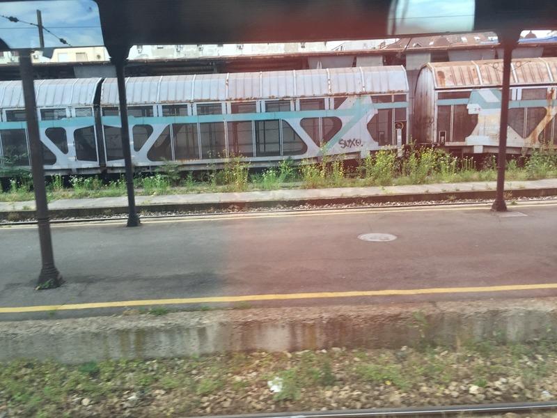 Run down Belgrade station