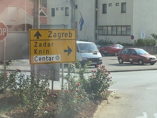 On the bus to Zadar