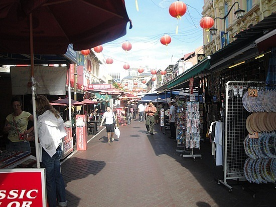 Red Lanterns of Chinatown
