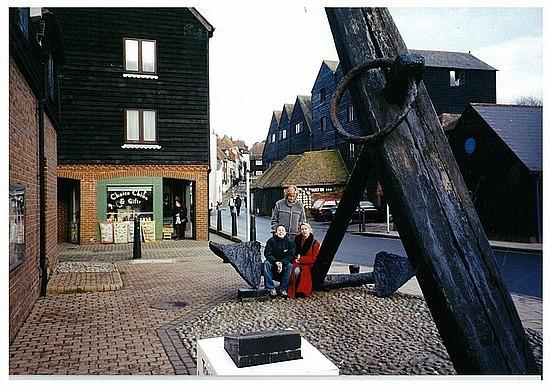 Big anchor in Rye