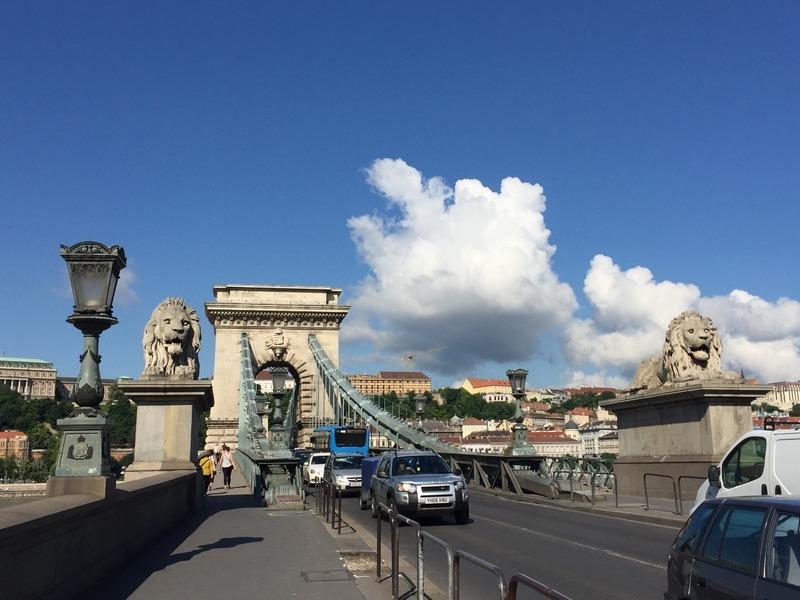 Chain Bridge on a sunny day