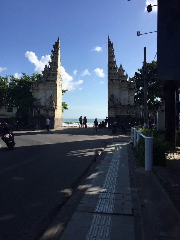 Gates to Kuta Beach
