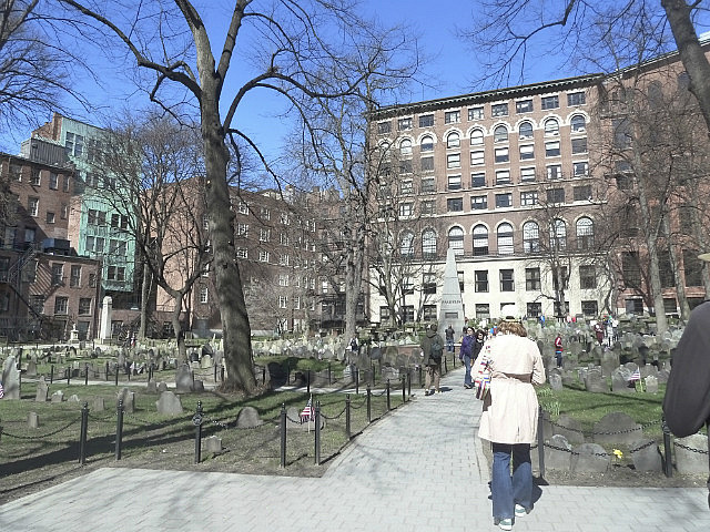 Burial Grounds in city centre