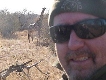 Mark & giraffe