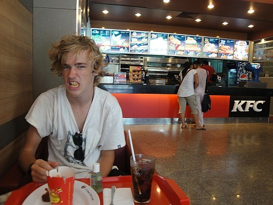 Lunch at KFC