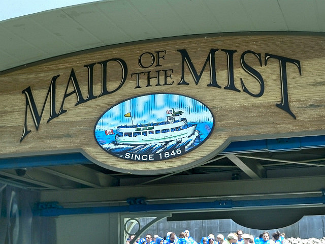 Maid of Mist boats ...been going a while