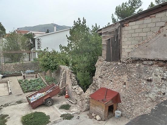 Hole where neighbours home was