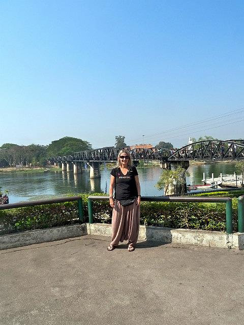 Me by bridge