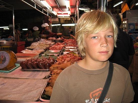Smells & Sights of food markets