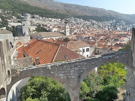 Red rooves of Dubrovnik