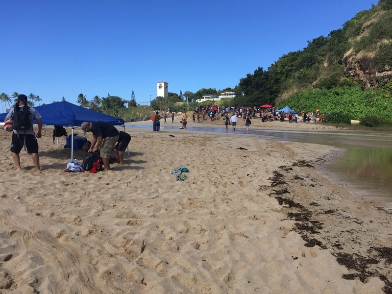 Beach split in 2