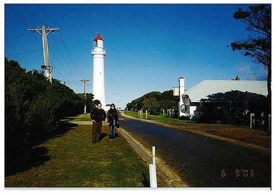 Lighthouse on Great Ocean Road