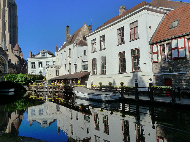 Early morning Bruge