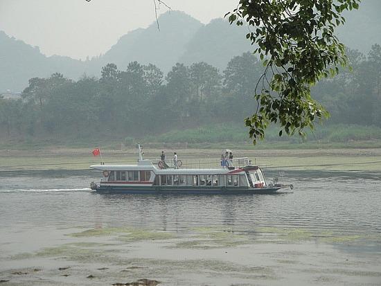 Boat on the River Li