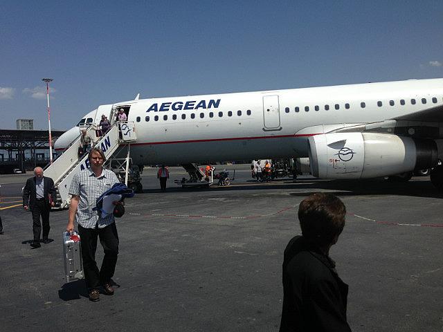 Landed in Greece!!!