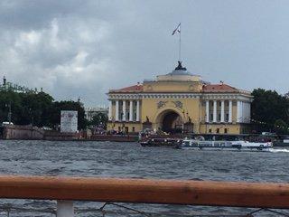 Palace on the Neva river